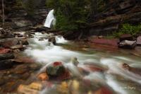 Baring Falls, Glacier National Park, MT, Montana, Waterfall, GNP