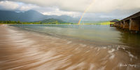 Hanalei,Hanalei Bay Pier,Kauai,Princeville,North Shore, Hawaii