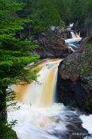 Cascade Falls State Park, Lutsen, Minnesota