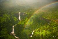 Heli,Helicopter Flight,Doors Off, Kauai,Napali Coast,Princeville,Rain, Rainbow, Waterfalls, Hawaii