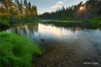 BWCA, Boundary Water Canoe Area, Northern Minnesota, Minnesota, Summer, Sunset, Backcountry