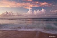 Kauai,Kauapea Beach,Kilauea Lighthouse,Princeville,Rain,Secret Beach,Waves,sunset, Hawaii