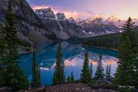 2014,Alberta,banff national park, canada, moraine lake, sunrise,canadian rockies