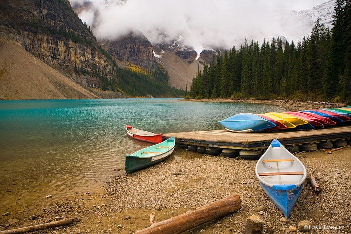 Moraine Lake, Banff National Park, Canada, photo