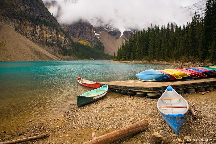 Moraine Lake, Banff National Park, Canada, photo