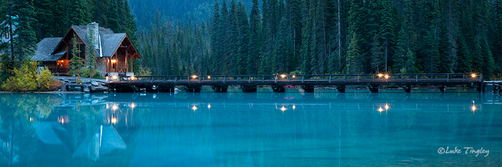 2014,Alberta,canadian rockies,sunset,Yoho National Park, Canada, Emerald Lake