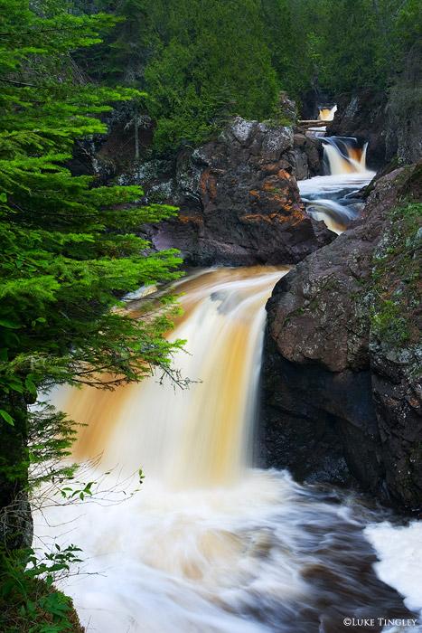 Cascade Falls State Park, Lutsen, Minnesota, photo