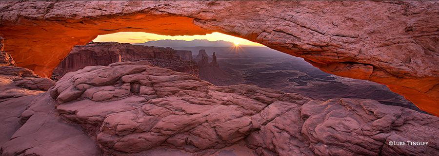 Moab, Utah, Sunrise, Mesa Arch, National Park