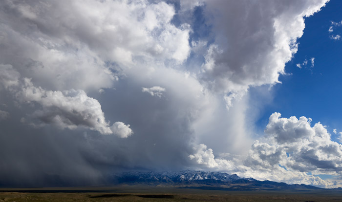 Storm, Cheyenne, Nevada, photo