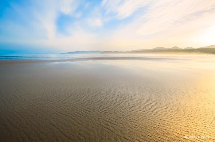 A beautiful morning on Shi Shi beach on the Olympic Peninsula in Washington.