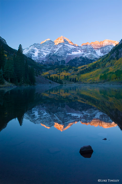 Maroon Bells, Aspen, Colorado, photo