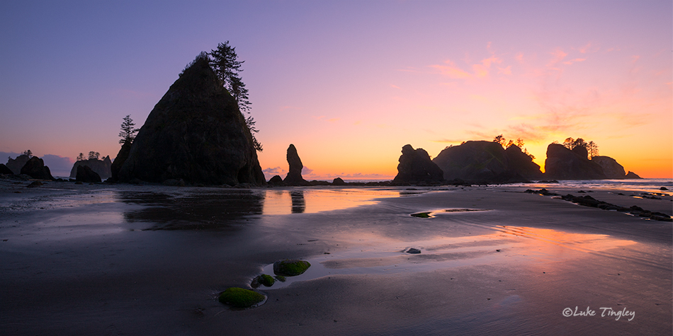 Olympic National Park, Beach, Sunset, Ocean, Olympic Peninsula, Washington Coast, Washington Beaches, Pacific Northwest, Olympic National Park, Backcountry