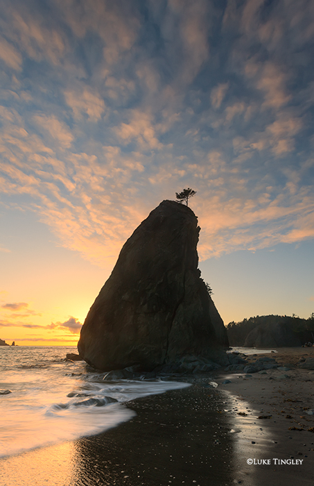 Sea Stacks, Rialto Beach, Olympic Peninsula, Olympic National Park, Sunset, Beaches