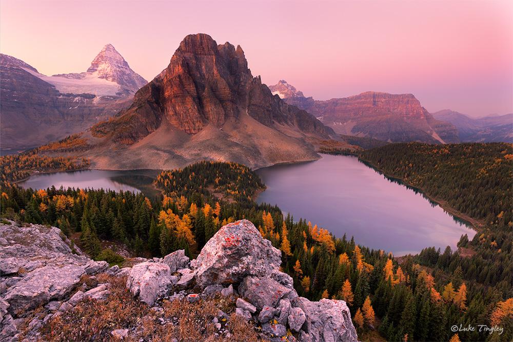 2014,Alberta,Assiniboine,Assiniboine Provincial Park,Cerulean Lake,Mt. Assiniboine,Sunburst Lake,canadian rockies