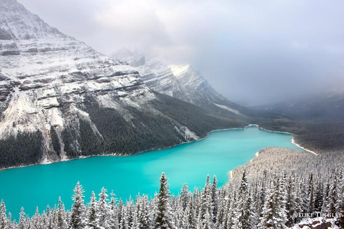 Peyto Lake, Banff National Park, Alberta, Canada, photo