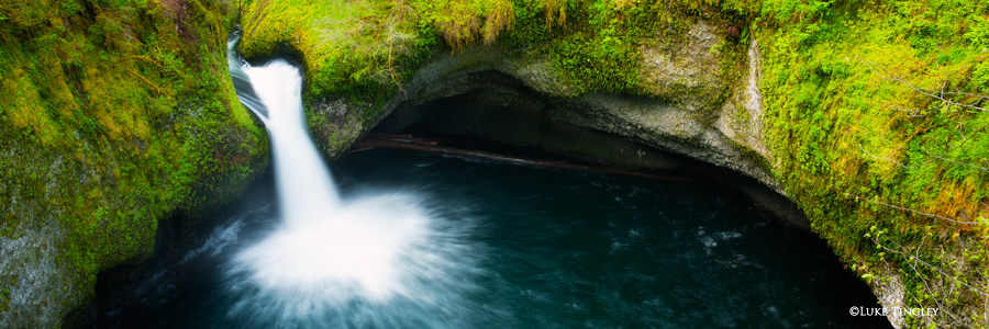 Punchbowl Falls, Columbia River Gorge, Oregon, Portland, photo