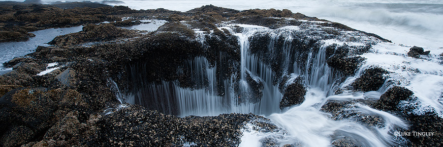 Thor's Well, Oregon, Coast, Pacific Northwest, Ocean