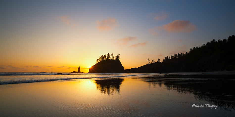 Olympic National Park, Beach, Sunset, Ocean, Olympic Peninsula, Washington Coast, Washington Beaches, Pacific Northwest, Olympic National Park, Second Beach, photo