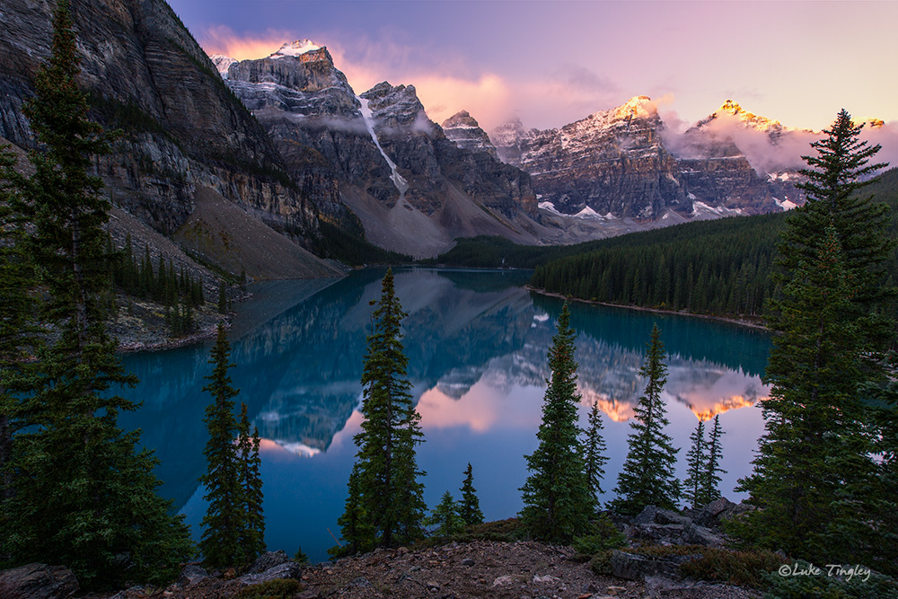 There's a reason Moraine Lake is an icon. The view never gets old.
