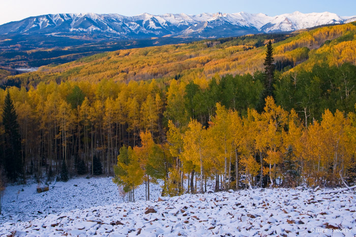 Kebler Pass, Colorado, photo