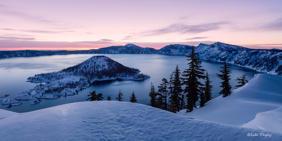 2016, Crater Lake, February, Pacific Northwest, Rim, Snow Camping, Snowshoe, Winter, photo