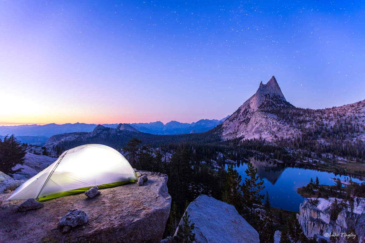 2016, Backcountry, Camping, Cathedral Peak, Tent, Upper Cathederal Lake, Wilderness, Yosemite, Yosemite National Park, august, photo